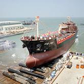 【第一艘泉州造的万吨大船】
