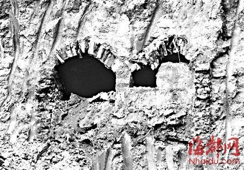 北梦山路施工工地挖出两圹古墓