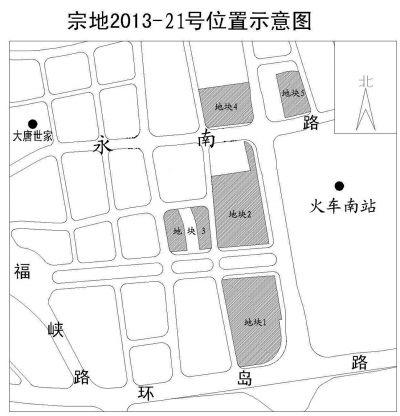 2013-21号位置示意图