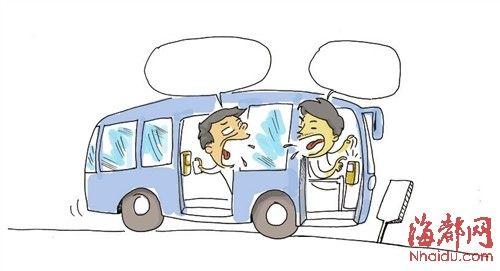 小小智慧树坐公共汽车-公交车读卡器创意设计-莆田23路公交读卡器多刷乘客钱 司机却不管高清图片