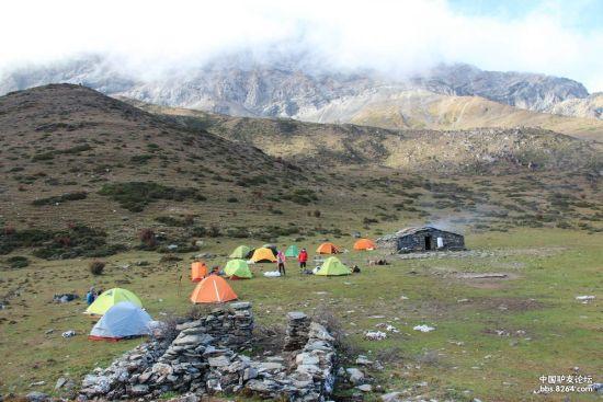 休息的营地