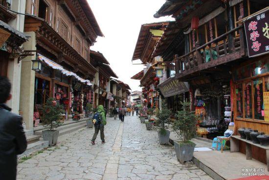 香格里拉古城