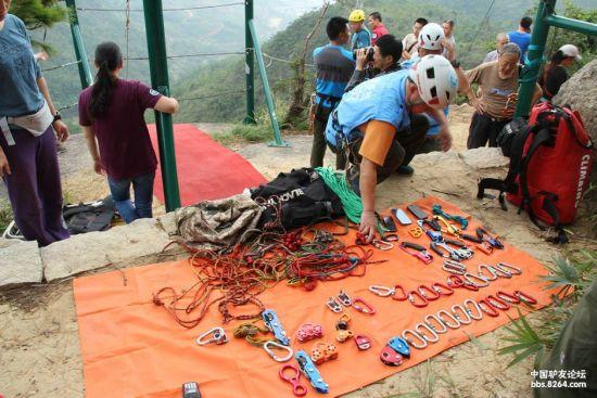 石头之前参加的在福州举行的海峡山地救援交流会