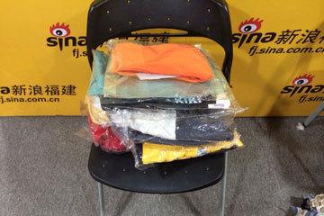 福州爱心网友送来的几套衣服