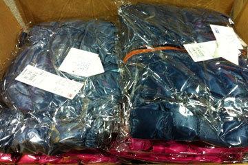 厦门爱心网友给三明中畲小学送的20件衣服