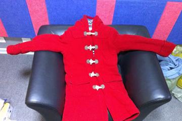 广州陆女士送的保暖棉衣
