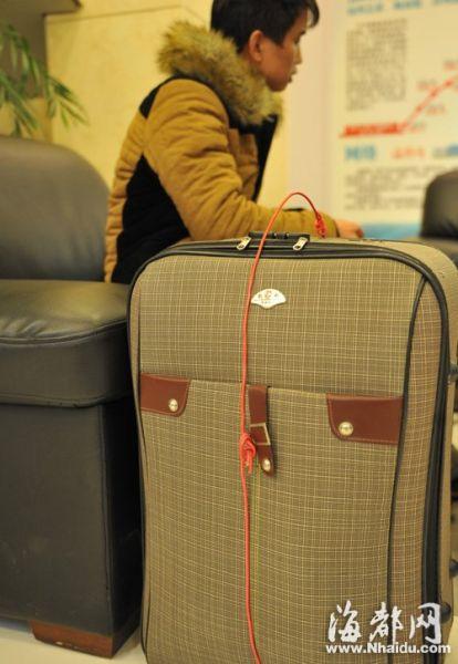 桂仔带着行李来福州被骗
