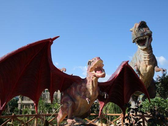贵安欢乐世界 恐龙乐园