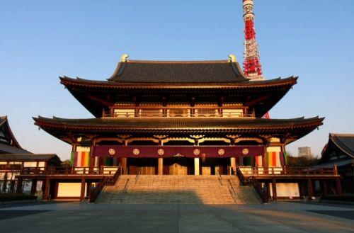 日本东京:增上寺