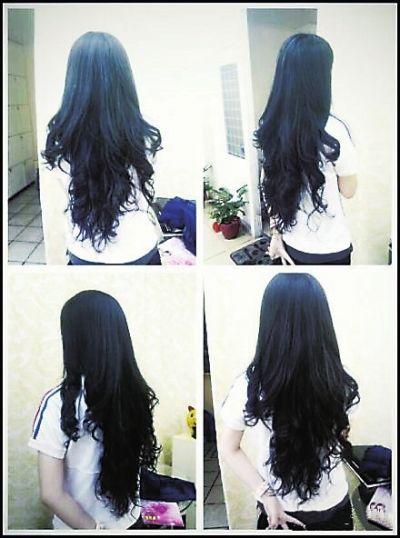 有一头乌黑亮丽的长发是小余最自豪的事