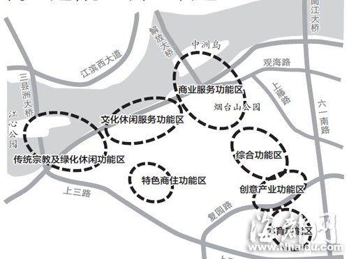 福州烟台山总体规划区分片区变化敲定七疆域绘制中国地图保护三大图片