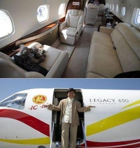 成龙价值2亿私人飞机