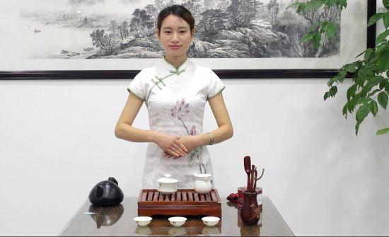 小末录制的茶艺展示视频