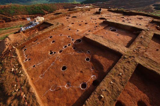 商周墓葬结构图