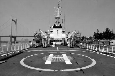 船上设停机坪可起降直升机