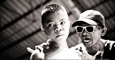 泰国儿童职业拳