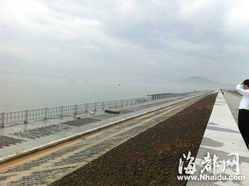 三江口防洪堤工程已基本建成