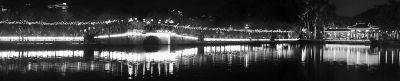 福州西湖夜景(图由老典提供)