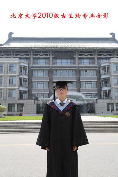 一个人的毕业照