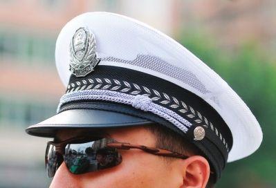 警帽 标志 矢量图
