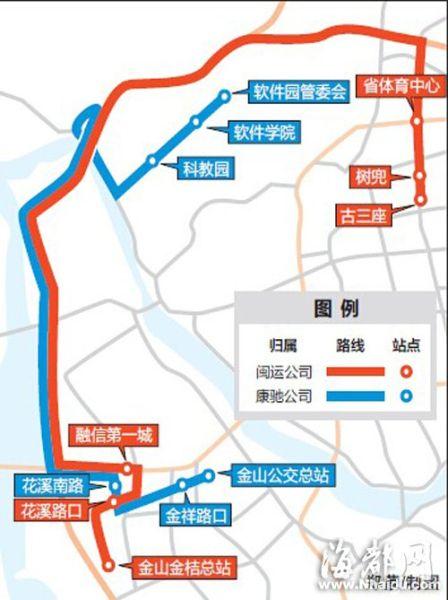 该条公交线路