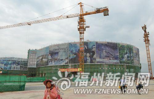 """罗源湾福州版""""香港海洋公园""""主体封顶。"""