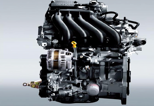 新款骊威搭载了一台hr16de发动机.