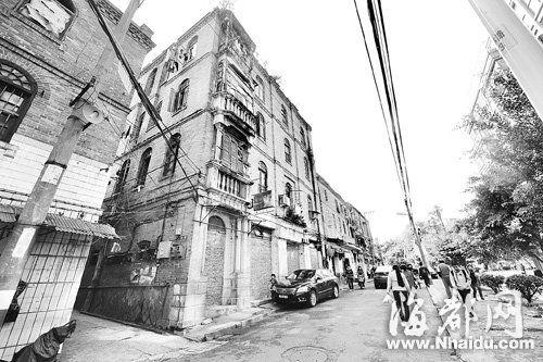 仓山老银行一条街