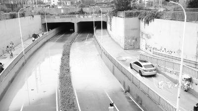桂山涵洞被淹