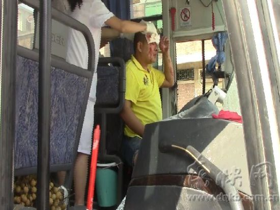 司机被卡车内