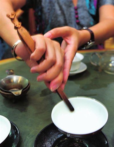 """""""如果在待客时忽略了应有的泡茶"""