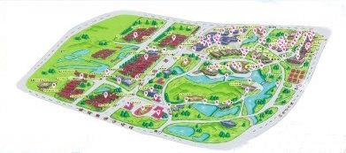 福建农大学生制作720度 微校园 动态地图图片