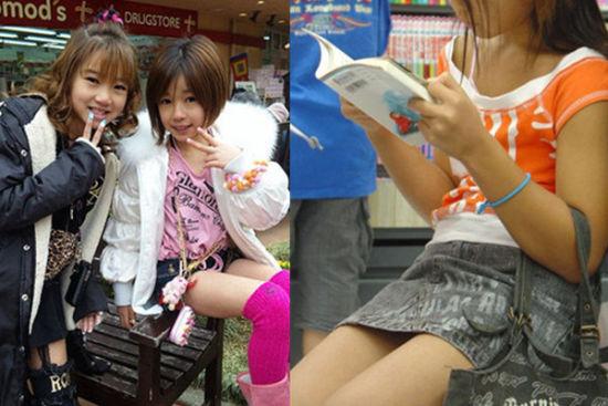 14岁日本女生早熟开放被惊呆(组图)(8)