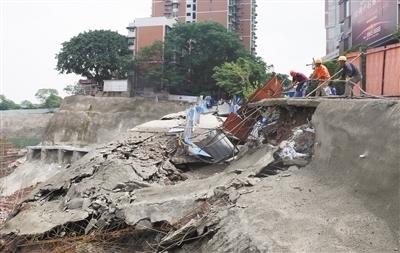 路面坍塌砸断南岸主供气管道 30万人受影响