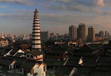 重庆市文物保护单位 合川文峰塔