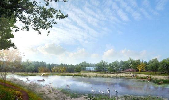 东湖湿地水上观光游憩区建设愿景。