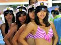 亚运沙滩宝贝激情动感表演 令人血脉喷张