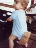 当孩子遇到动物 超级萌可爱到爆棚
