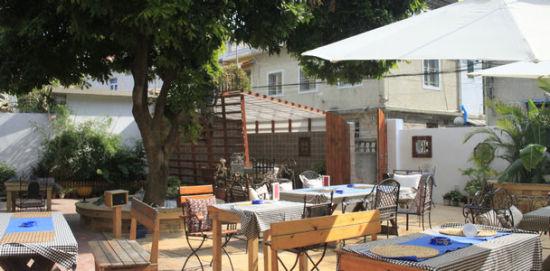 厦门曾厝��的田园风格餐厅:竹屋