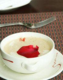 奶油洋芋鲜虾浓汤