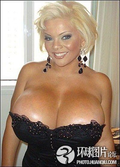 制成世界最大乳房