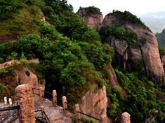 冠豸山的绝美景色