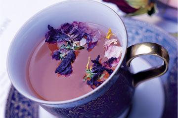 月饼+花草茶