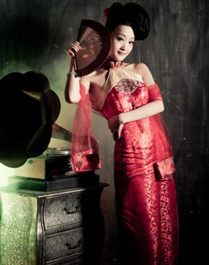 厦门古典美女梦回大上海