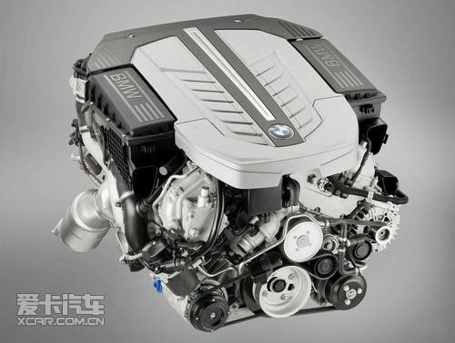 宝马v12双涡轮增压发动机图片