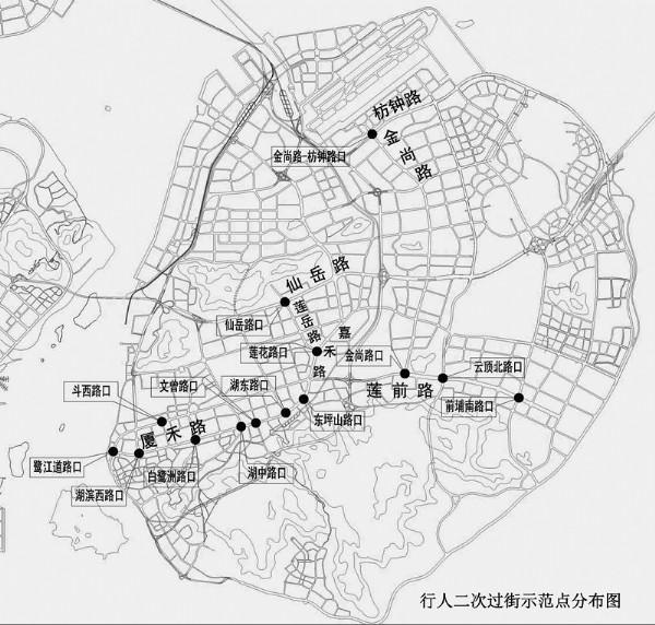 厦门前埔手绘地图