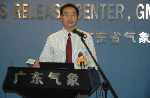 广东省气象台首席预报员张东