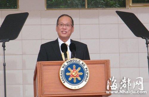 菲律宾总统阿基诺 到福建鸿渐村寻根谒祖(组图