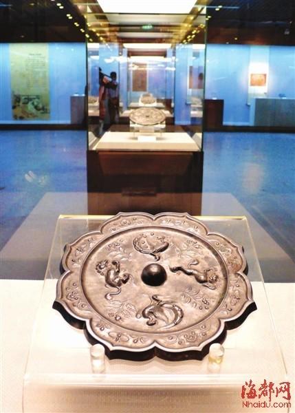 省博展览的陕西铜镜