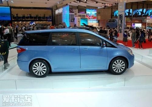明年初上市 帝豪推豪华商务MPV车型EV8高清图片